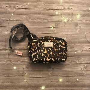 VS mini cheetah print purse